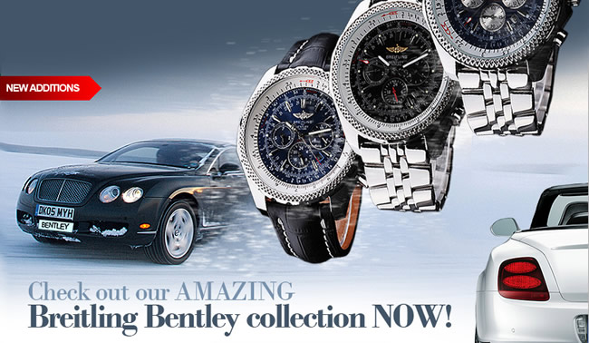 breitling bently motors replica